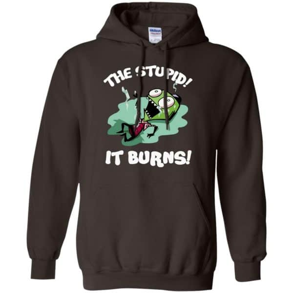 The Stupid It Burns Invader Zim Shirt, Hoodie, Tank Apparel 9