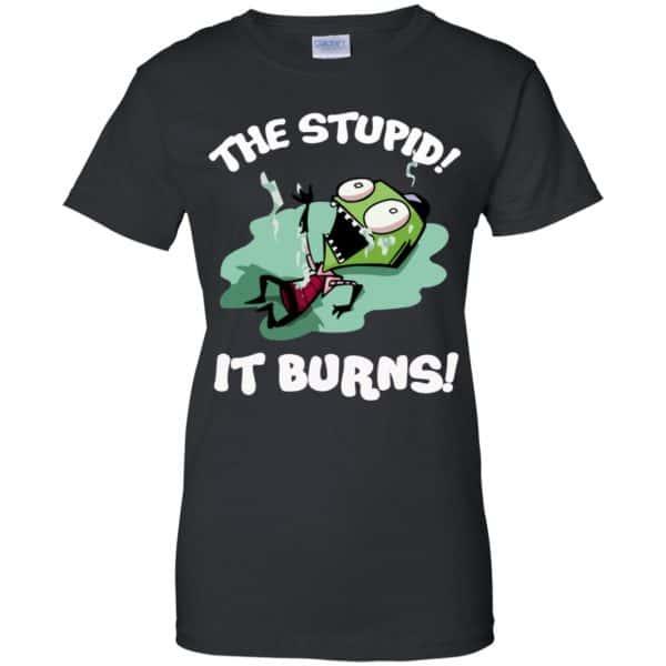 The Stupid It Burns Invader Zim Shirt, Hoodie, Tank Apparel 11