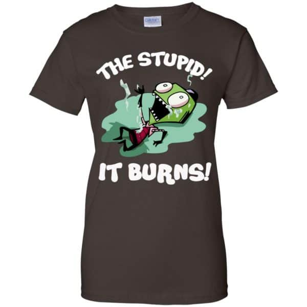 The Stupid It Burns Invader Zim Shirt, Hoodie, Tank Apparel 12