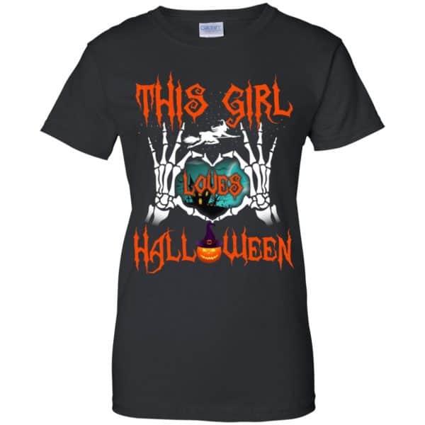 This Girl Loves Halloween Shirt, Hoodie, Tank Apparel