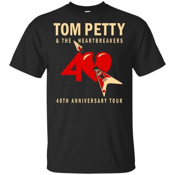 Tom Petty And The Heartbreakers 40th Anniversary Tour Shirt, Hoodie, Tank Apparel 3