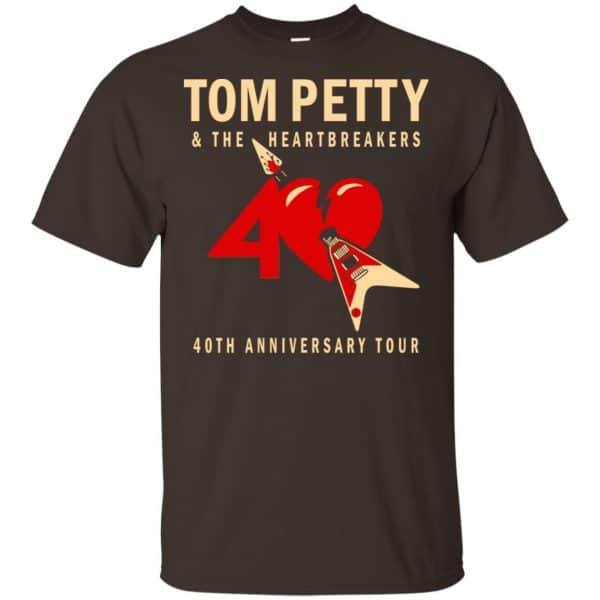 Tom Petty And The Heartbreakers 40th Anniversary Tour Shirt, Hoodie, Tank Apparel 4