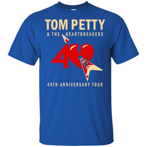 Tom Petty And The Heartbreakers 40th Anniversary Tour Shirt, Hoodie, Tank Apparel 5