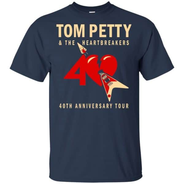 Tom Petty And The Heartbreakers 40th Anniversary Tour Shirt, Hoodie, Tank Apparel 6