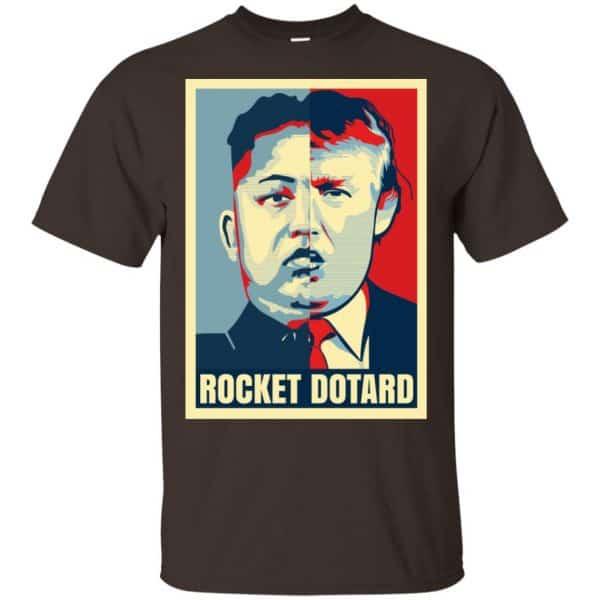 Rocket Dotard Kim Jong-un Donald Trump Shirt, Hoodie, Tank Apparel 4