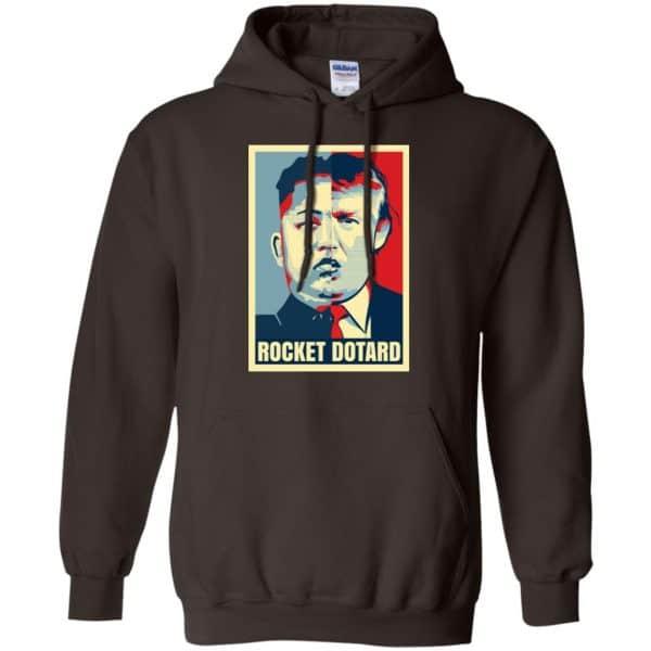 Rocket Dotard Kim Jong-un Donald Trump Shirt, Hoodie, Tank Apparel 9