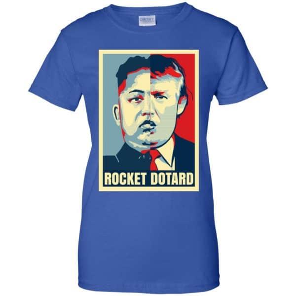 Rocket Dotard Kim Jong-un Donald Trump Shirt, Hoodie, Tank Apparel 14