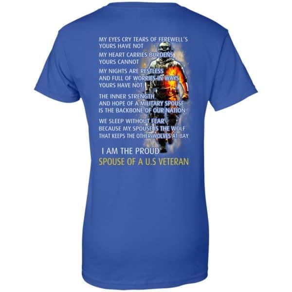 I Am The Proud Spouse Of A U.S Veteran T-Shirts, Hoodie, Tank Apparel 14