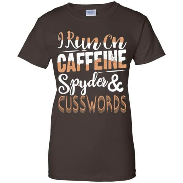 I Run On Caffeine Spyder & Cuss Word Shirt, Hoodie, Tank Apparel 12