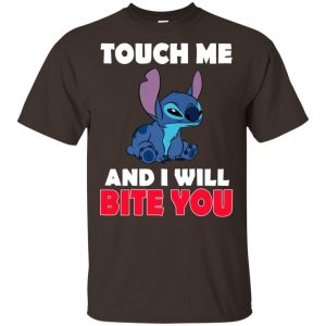 Stitch: Touch Me And I Will Bite You Shirt, Hoodie, Tank Apparel