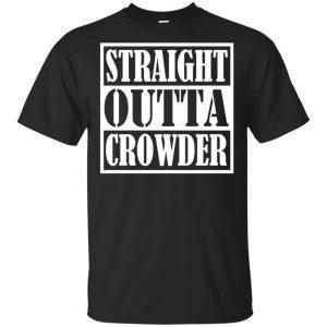 Straight Outta Crowder Oklahoma City Pride Parody Shirt, Hoodie, Tank Apparel
