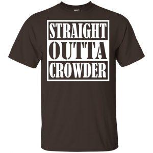 Straight Outta Crowder Oklahoma City Pride Parody Shirt, Hoodie, Tank Apparel 2
