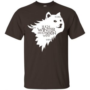 Game Of Thrones: Doge Such Winter Much Soon Wow T-Shirts, Hoodie, Tank Apparel