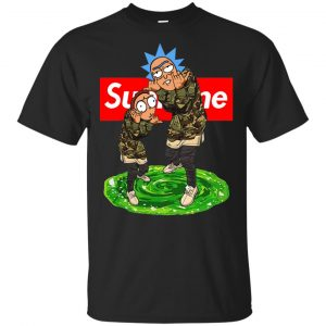 Supreme Rick And Morty Official Shirt, Hoodie, Tank Apparel