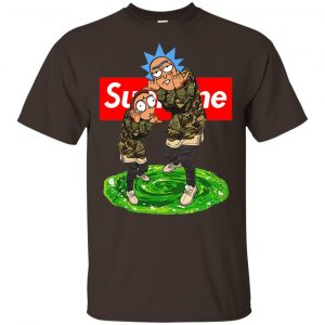 Supreme Rick And Morty Official Shirt, Hoodie, Tank Apparel 2