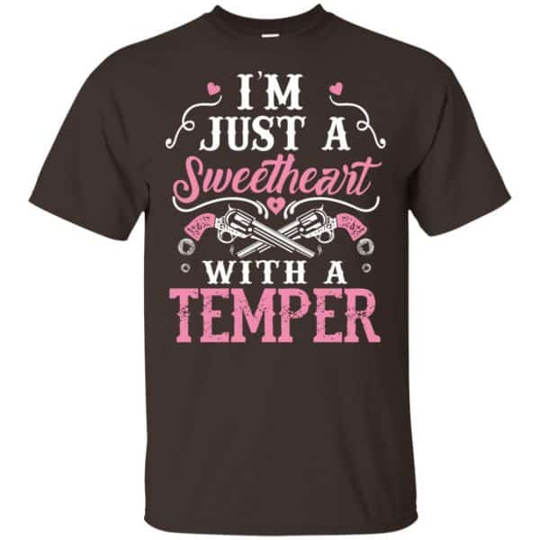 I'm Just A Sweetheart With A Temper Shirt, Hoodie, Tank Apparel 4