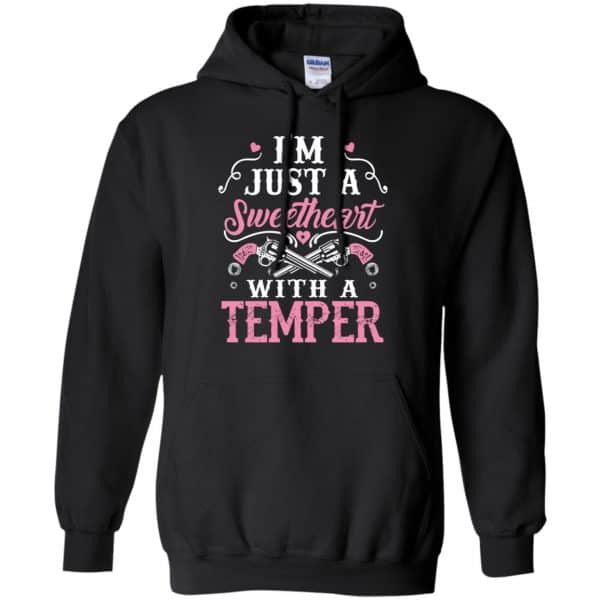 I'm Just A Sweetheart With A Temper Shirt, Hoodie, Tank Apparel 7