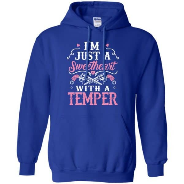 I'm Just A Sweetheart With A Temper Shirt, Hoodie, Tank Apparel 10