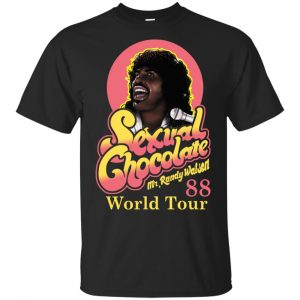 Randy Watson Sexual Chocolate World Tour 88 Shirt, Hoodie, Tank Apparel