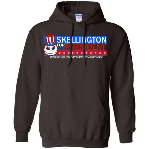 Skellington For President 2016 Because This Election Is Already A Nightmare Shirt, Hoodie, Tank Apparel 9