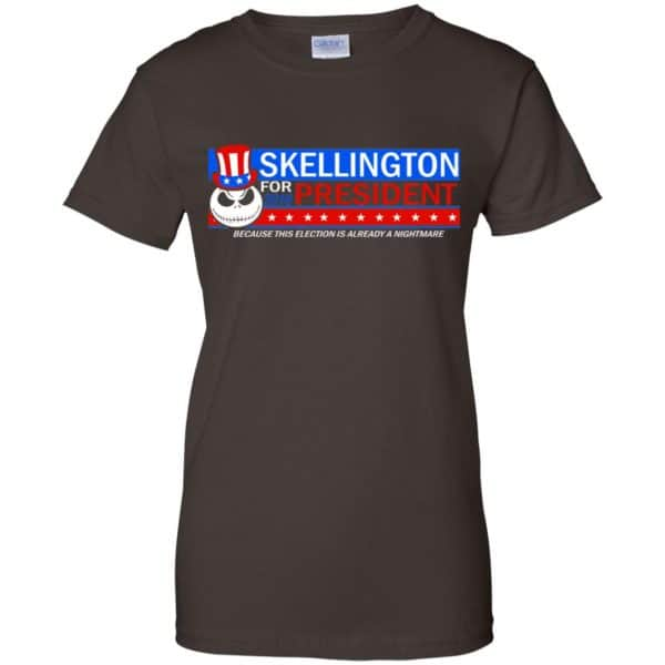 Skellington For President 2016 Because This Election Is Already A Nightmare Shirt, Hoodie, Tank Apparel 12