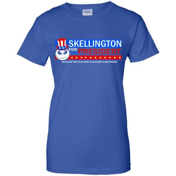 Skellington For President 2016 Because This Election Is Already A Nightmare Shirt, Hoodie, Tank Apparel 14