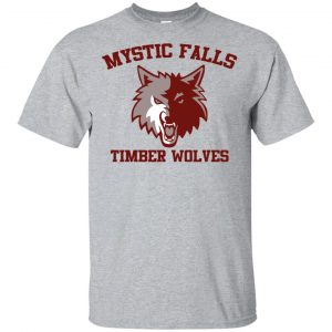 The Vampire Diaries: Mystic Falls Salvatore 17 Timber Wolves T-Shirts, Hoodie, Tank
