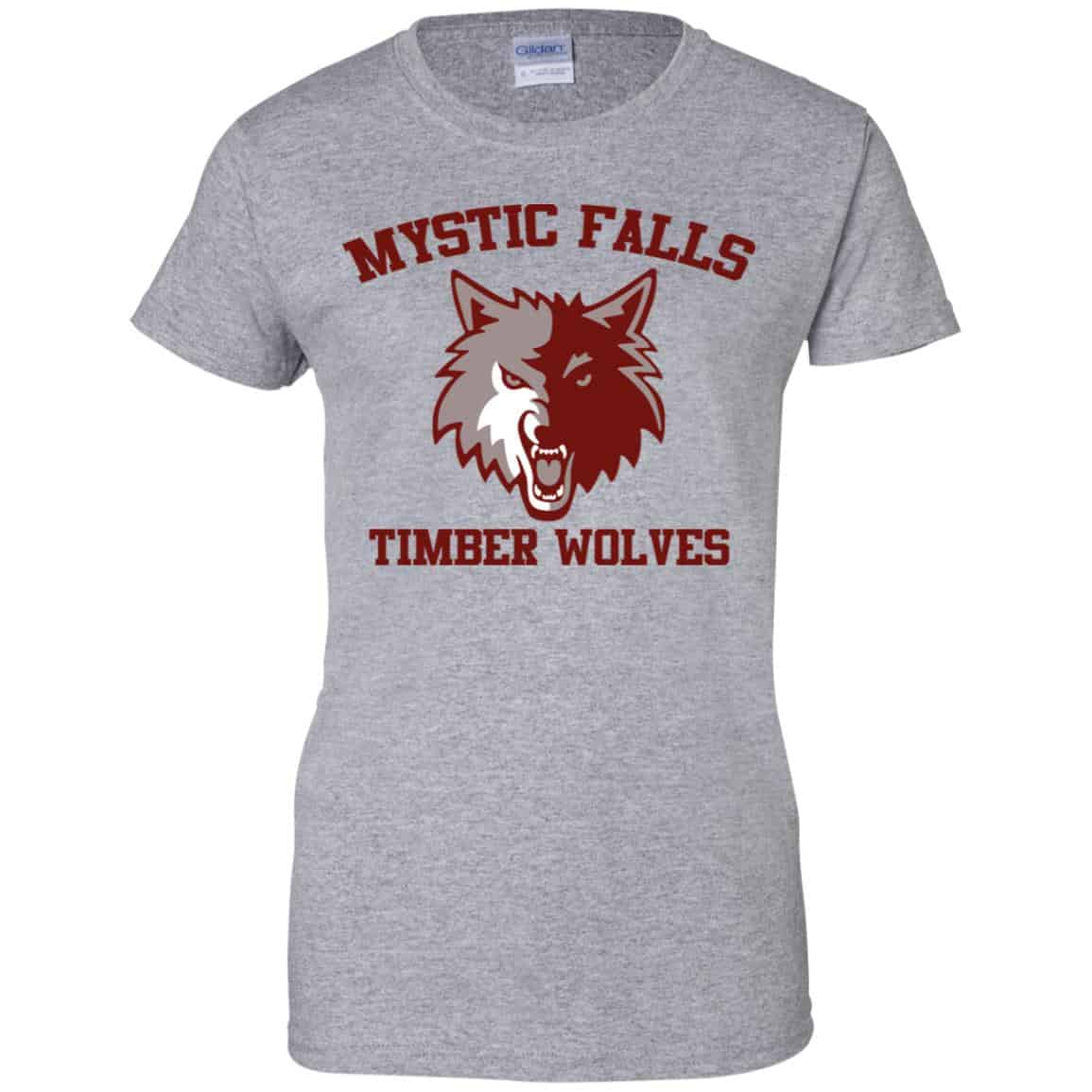 The Vampire Diaries Mystic Falls Salvatore 17 Timber Wolves T Shirts Hoodie Tank 0stees