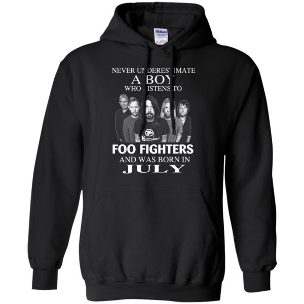 A Boy Who Listens To Foo Fighters And Was Born In July T-Shirts, Hoodie, Tank Apparel