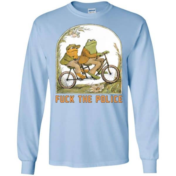 Frog And Toad: Fuck The Police T-Shirts, Hoodie, Tank