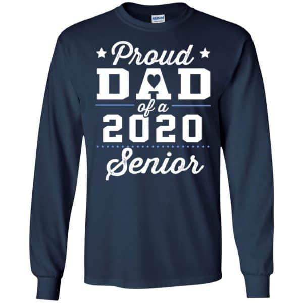 Proud Dad Of A 2020 Senior Graduation T-Shirts, Hoodie, Tank Apparel