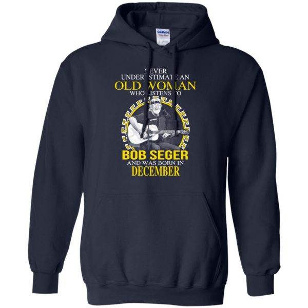An Old Woman Who Listens To Bob Seger And Was Born In December T-Shirts, Hoodie, Tank Apparel 8