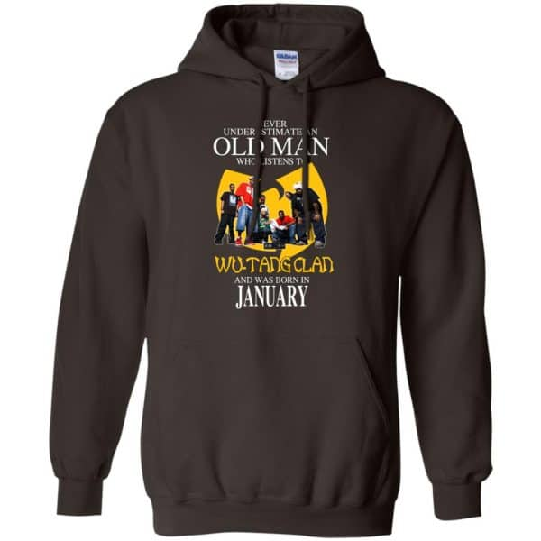 An Old Man Who Listens To Wu-Tang Clan And Was Born In January T-Shirts, Hoodie, Tank