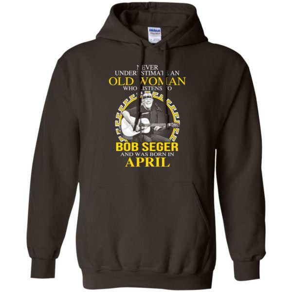 An Old Woman Who Listens To Bob Seger And Was Born In April T-Shirts, Hoodie, Tank Apparel 9