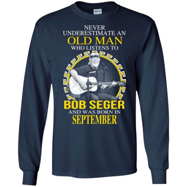 An Old Man Who Listens To Bob Seger And Was Born In September T-Shirts, Hoodie, Tank Apparel 8