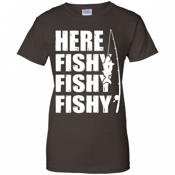 Here Fishy Fishy Fishy Fishing Shirt, Hoodie, Tank