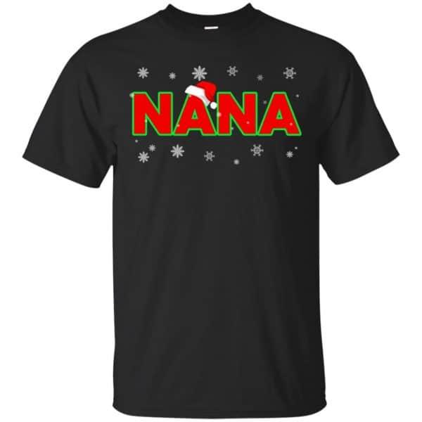 Nana Christmas Santa Ugly Sweater, T-Shirts, Hoodie Apparel 3