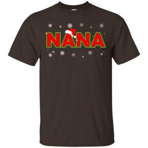 Nana Christmas Santa Ugly Sweater, T-Shirts, Hoodie Apparel 2