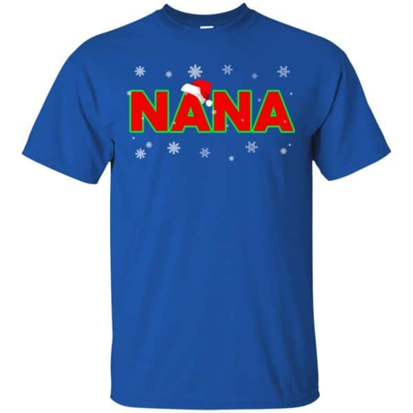Nana Christmas Santa Ugly Sweater, T-Shirts, Hoodie Apparel 5