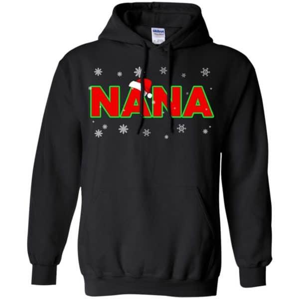 Nana Christmas Santa Ugly Sweater, T-Shirts, Hoodie Apparel 7