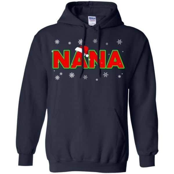 Nana Christmas Santa Ugly Sweater, T-Shirts, Hoodie Apparel 8