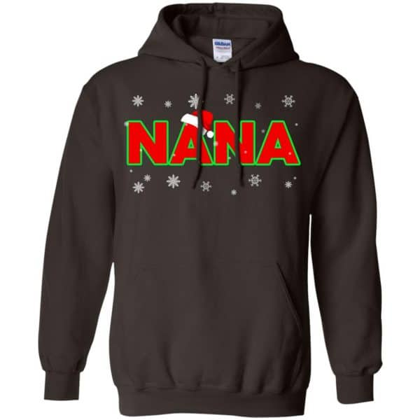 Nana Christmas Santa Ugly Sweater, T-Shirts, Hoodie Apparel 9