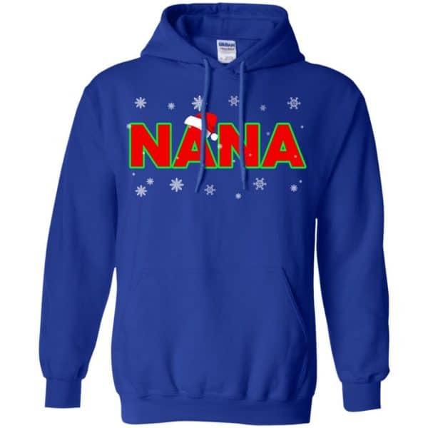 Nana Christmas Santa Ugly Sweater, T-Shirts, Hoodie Apparel 10