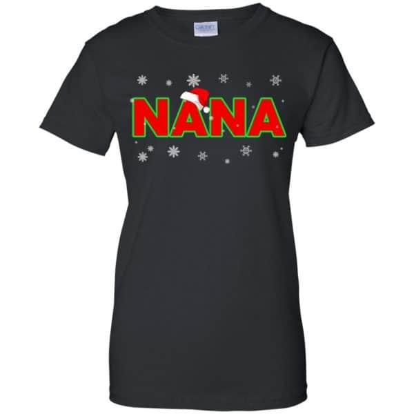 Nana Christmas Santa Ugly Sweater, T-Shirts, Hoodie Apparel 11