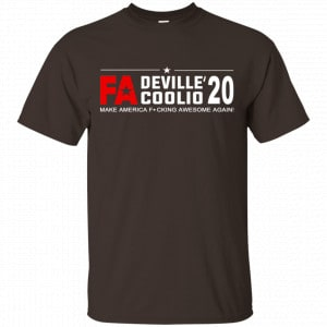 Cherie DeVille And Coolio 2020 Make America Fucking Awesome Again T-Shirts, Hoodie, Tank Best Selling 2