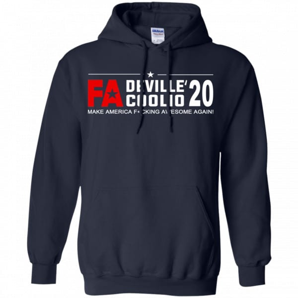 Cherie DeVille And Coolio 2020 Make America Fucking Awesome Again T-Shirts, Hoodie, Tank