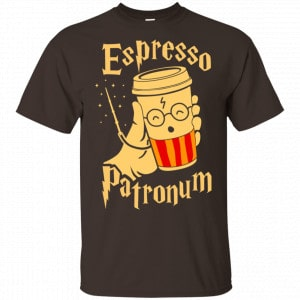 Harry Potter: Espresso Patronum T-Shirts, Hoodie, Tank Apparel 2