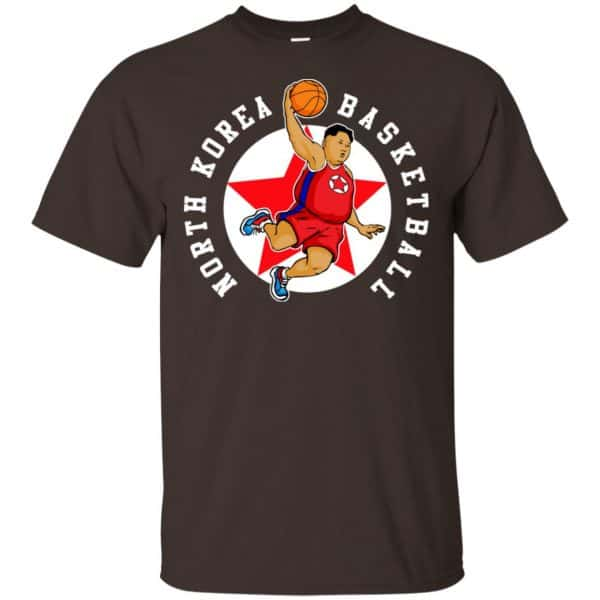 North Korea Basketball Rocket Man Kim Jong Un T-Shirts, Hoodie, Tank Apparel 4