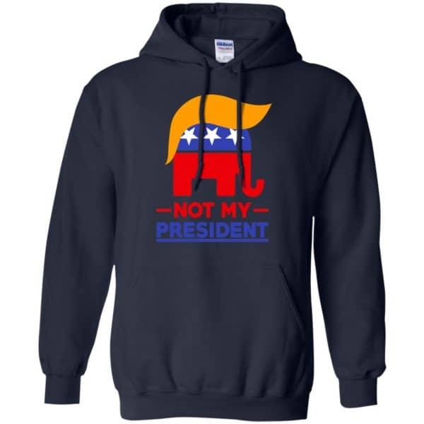 Not My President Anti Donald Trump Shirt, Hoodie, Tank Apparel 8