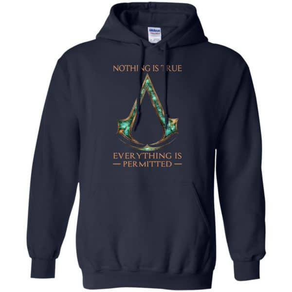Nothing Is True Everything Is Permitted Shirt, Hoodie, Tank Apparel 8